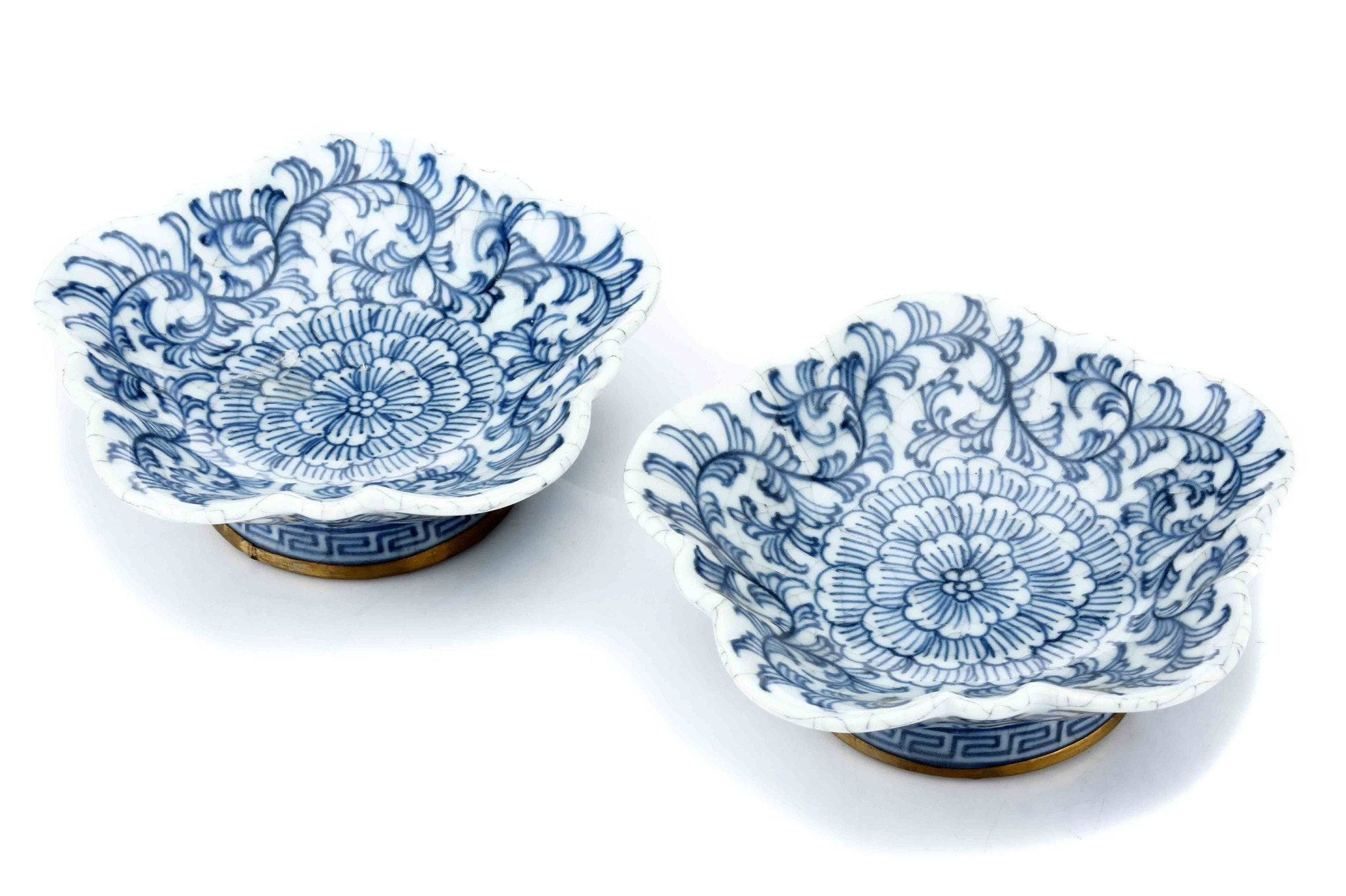 Oriental Flower Dish (Set of 2)