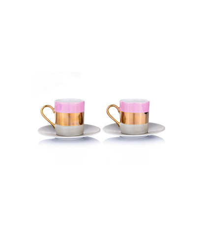 Bangle Coffee-Cup/Saucer (S/2)