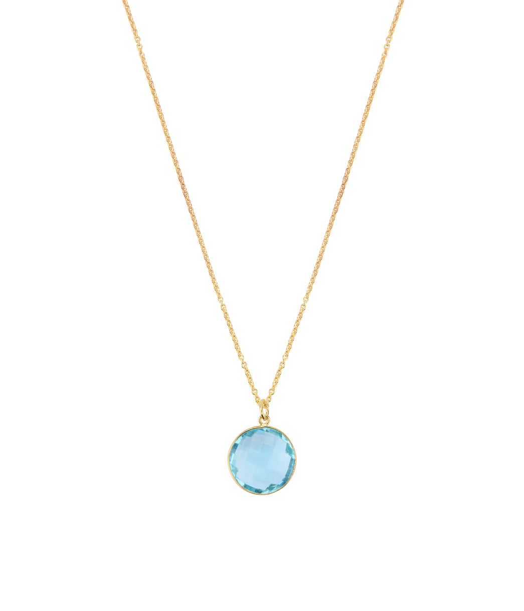Beryl Aquamarine Necklace