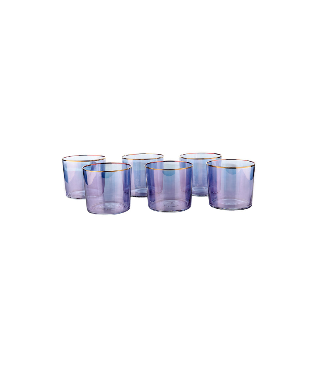 Blueberry Sorbet Tumbler Set of 6