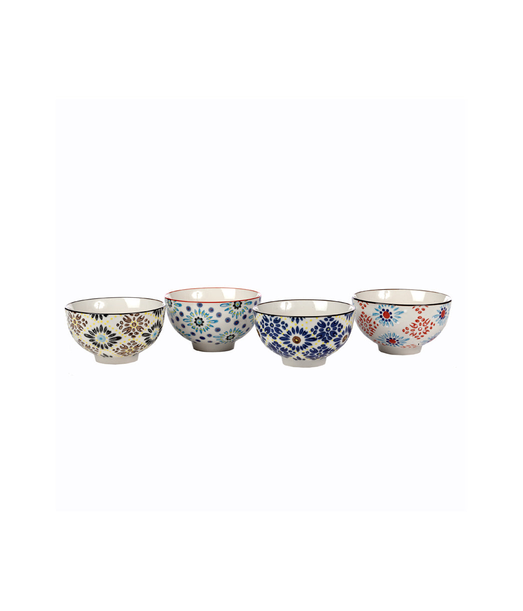 Bowls mosaic set of 4