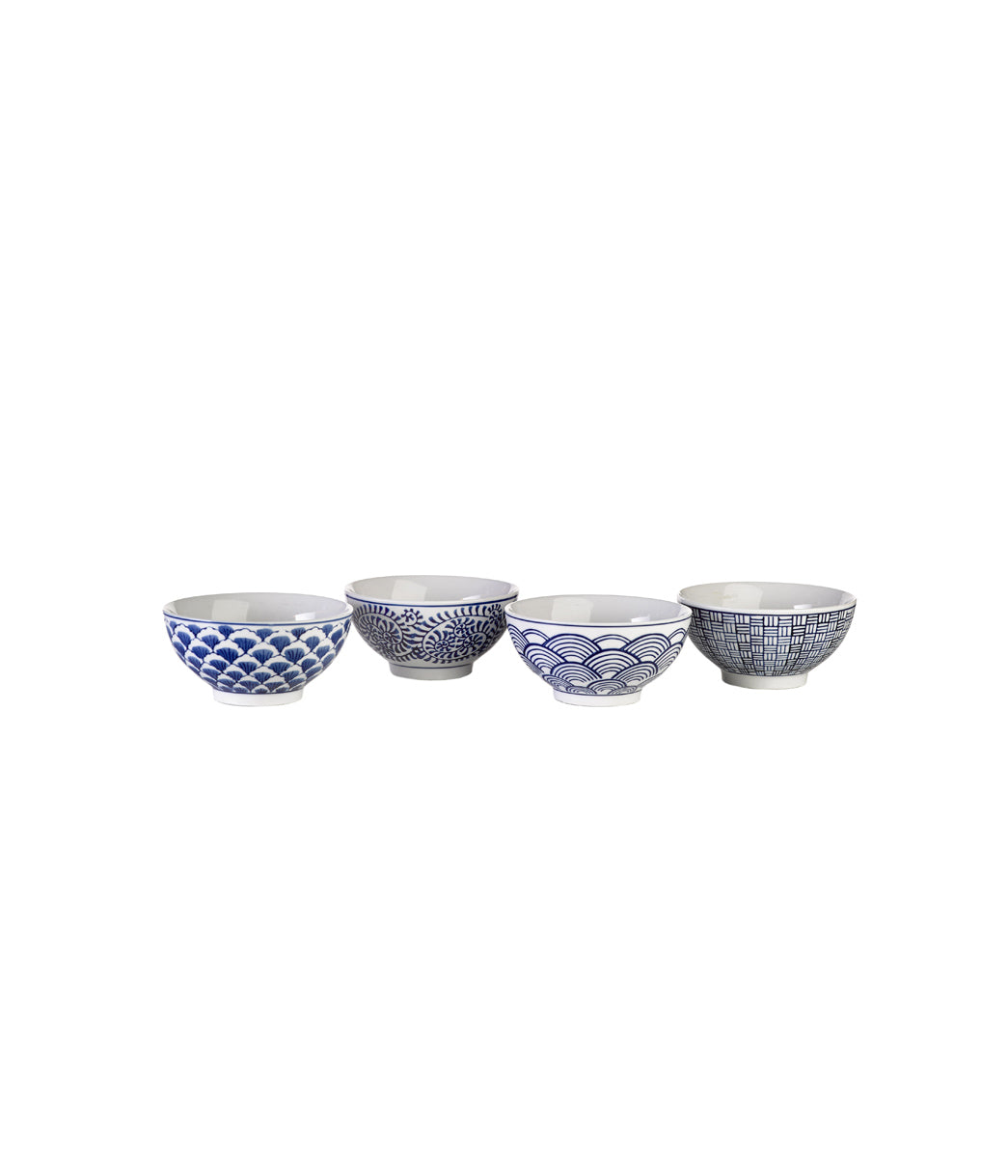 Bowls sushi set of 4