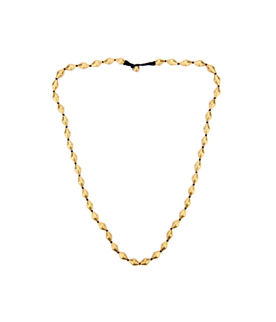 Conoid Gold Necklace