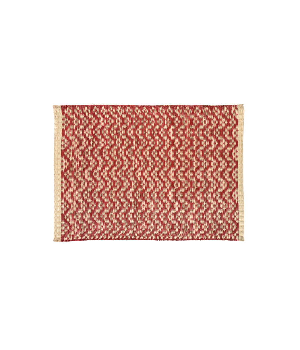Maroon Design Placemat set of 6