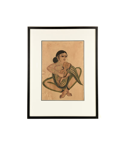 Kalighat sitting women