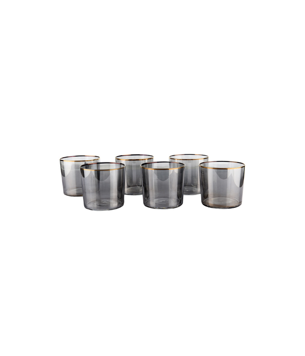 Licorice Sorbet Tumbler Set of 6