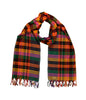 Woven Multicolor Checkered Scarf