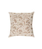 Moonriver beige flower  embroidery cushion