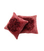 Moonriver flower ribbon velvet cushion