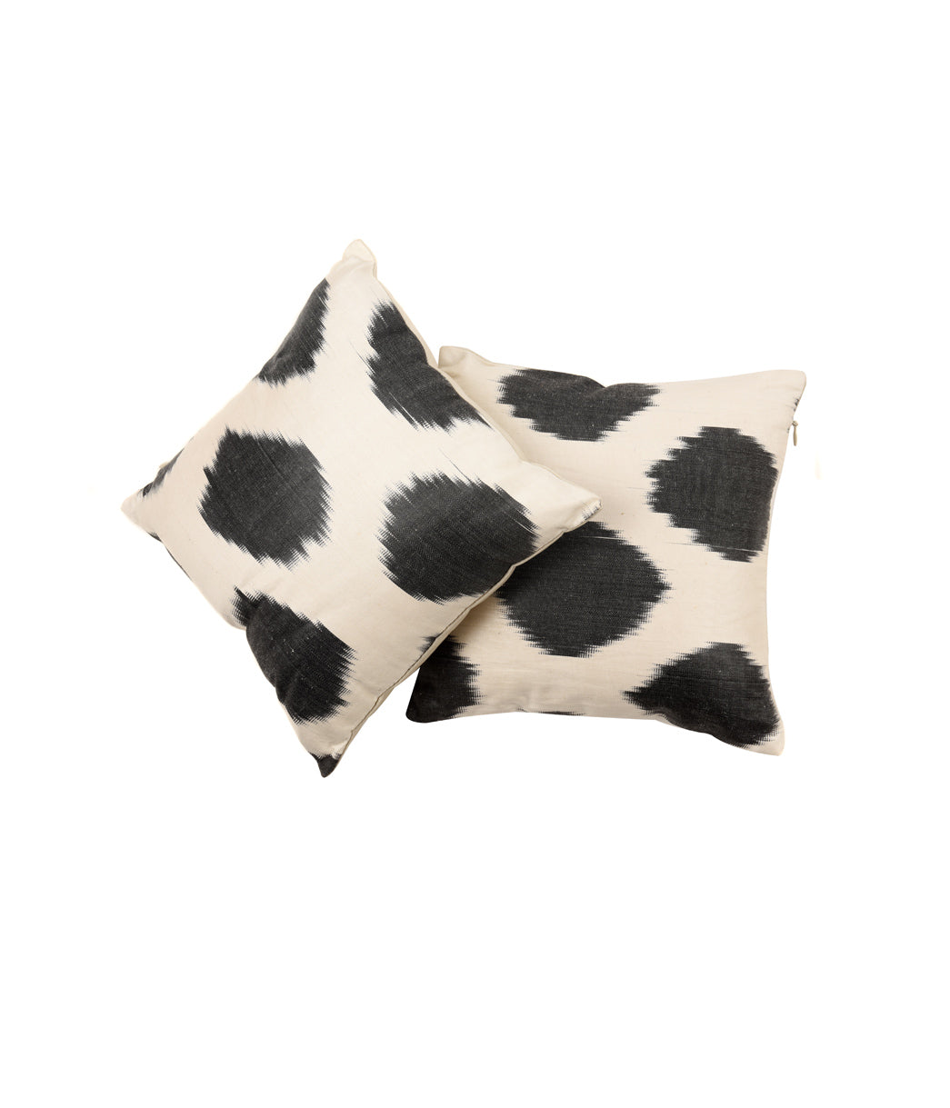 Moonriver ikat cushion