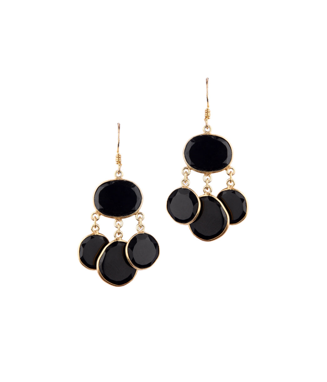 Raven Onyx Earrings