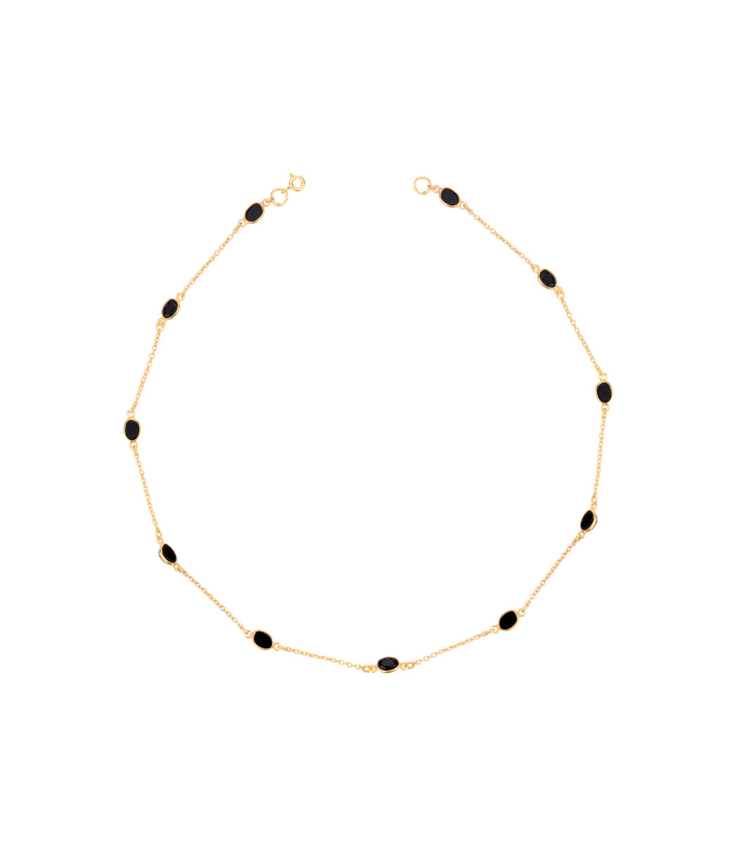 Sable Onyx Necklace