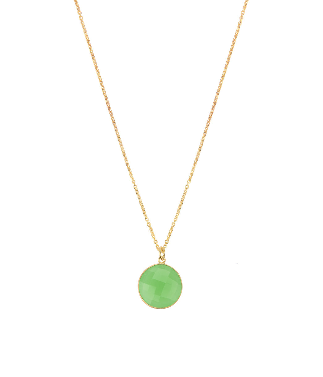 Tiger Jade Necklace