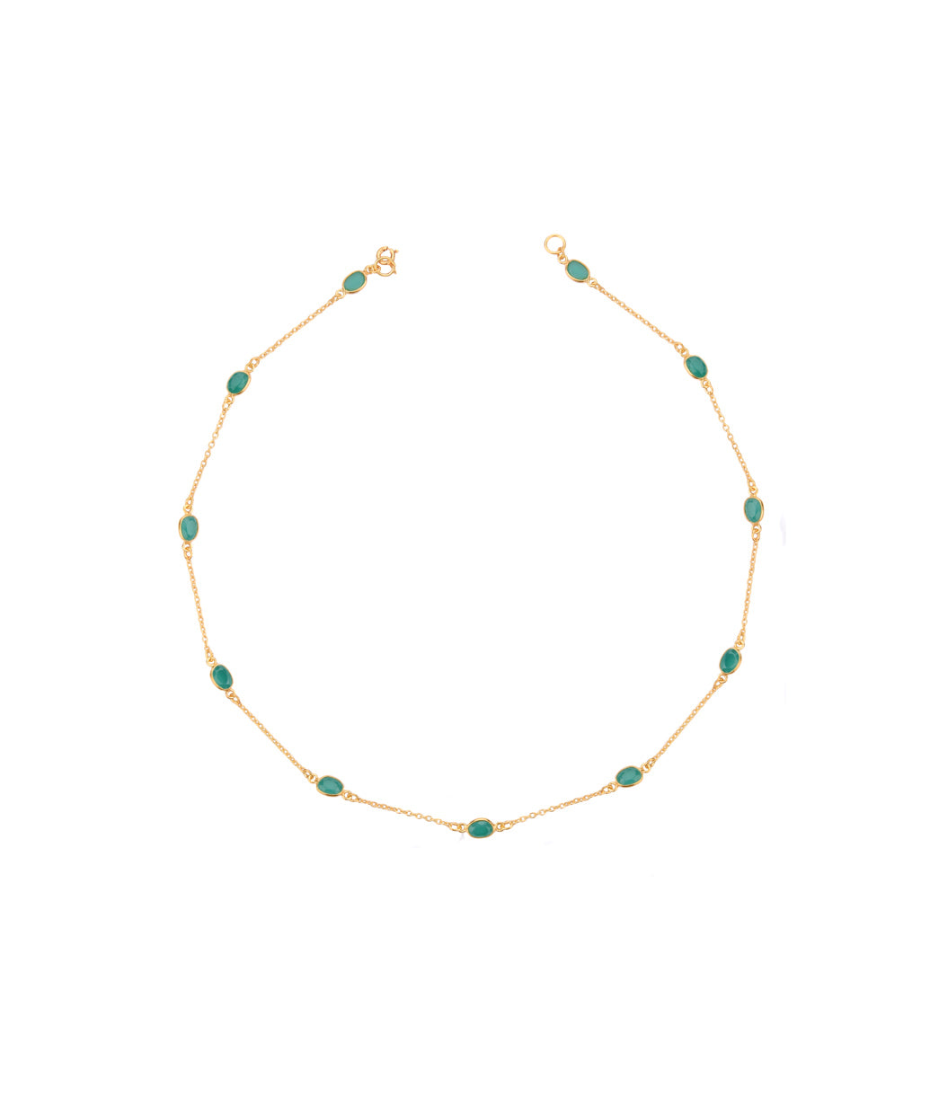 Tinct Emerald Necklace