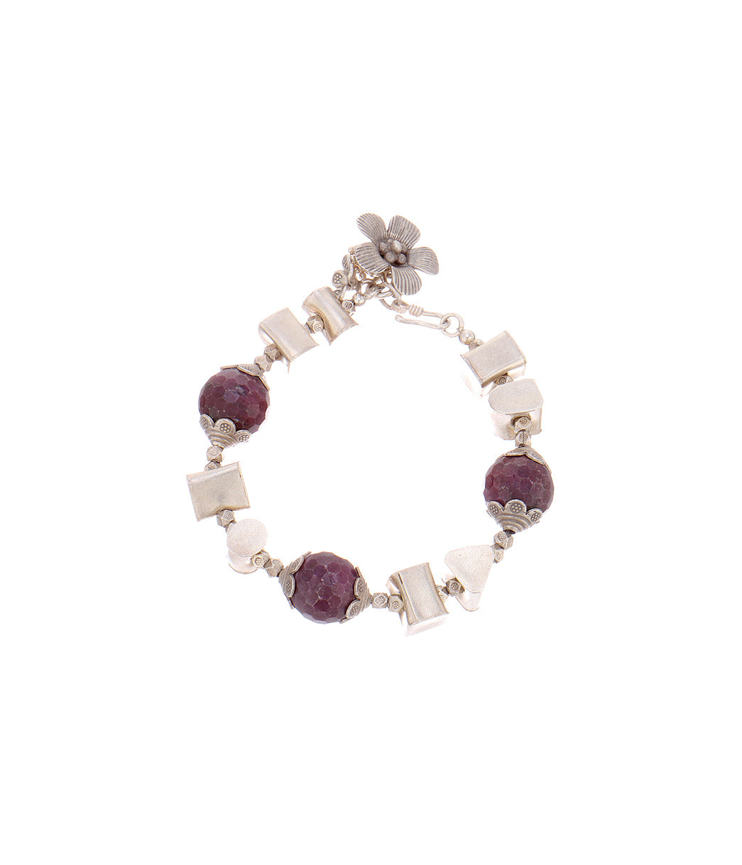 Tribal Gypsy Purple Bracelet