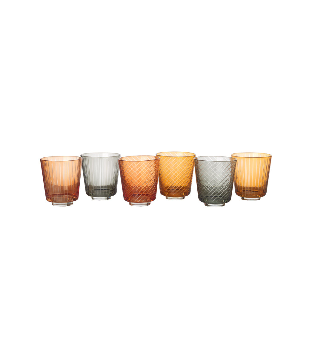 Tumbler library Set of 6