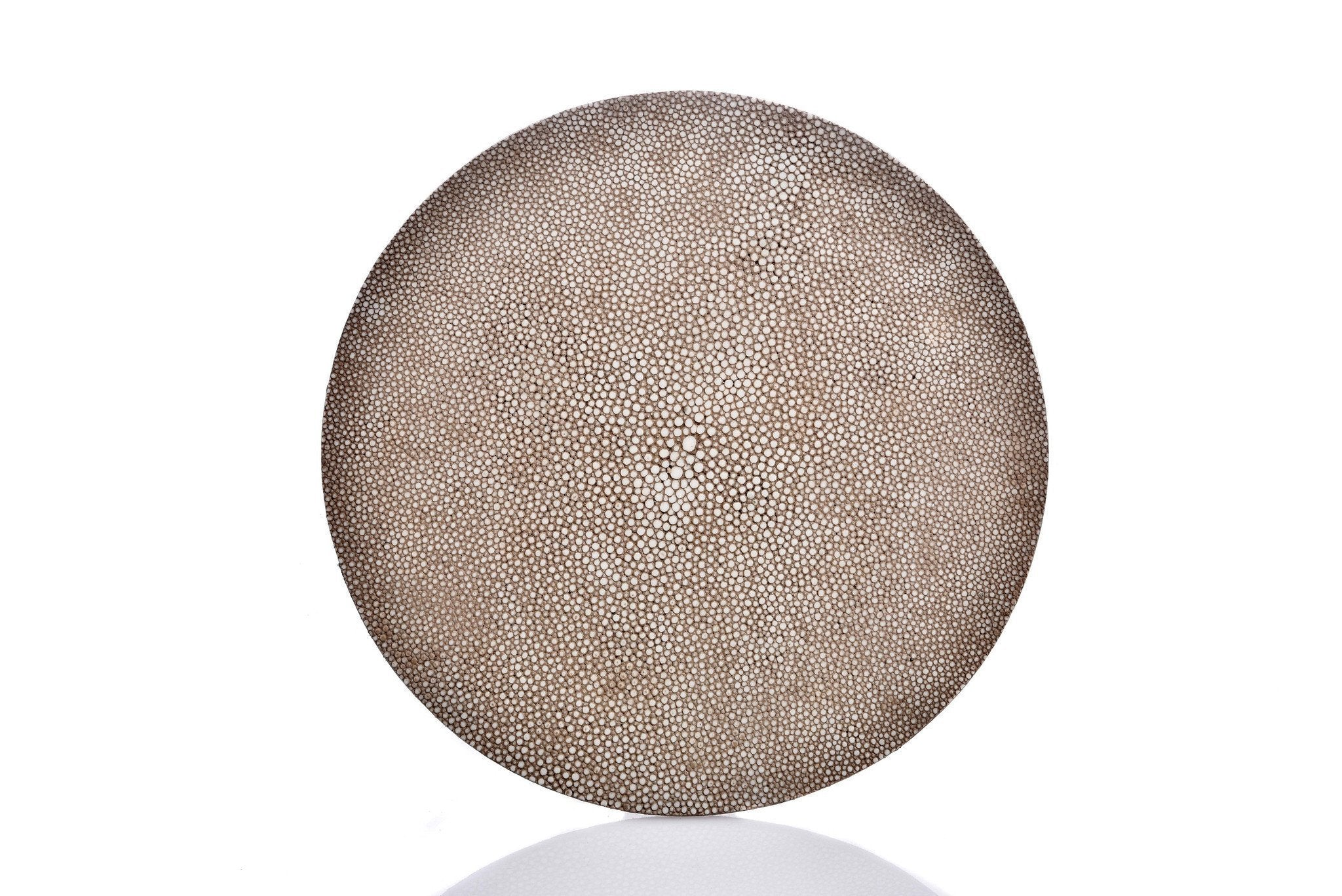 Grey Shagreen Place mat