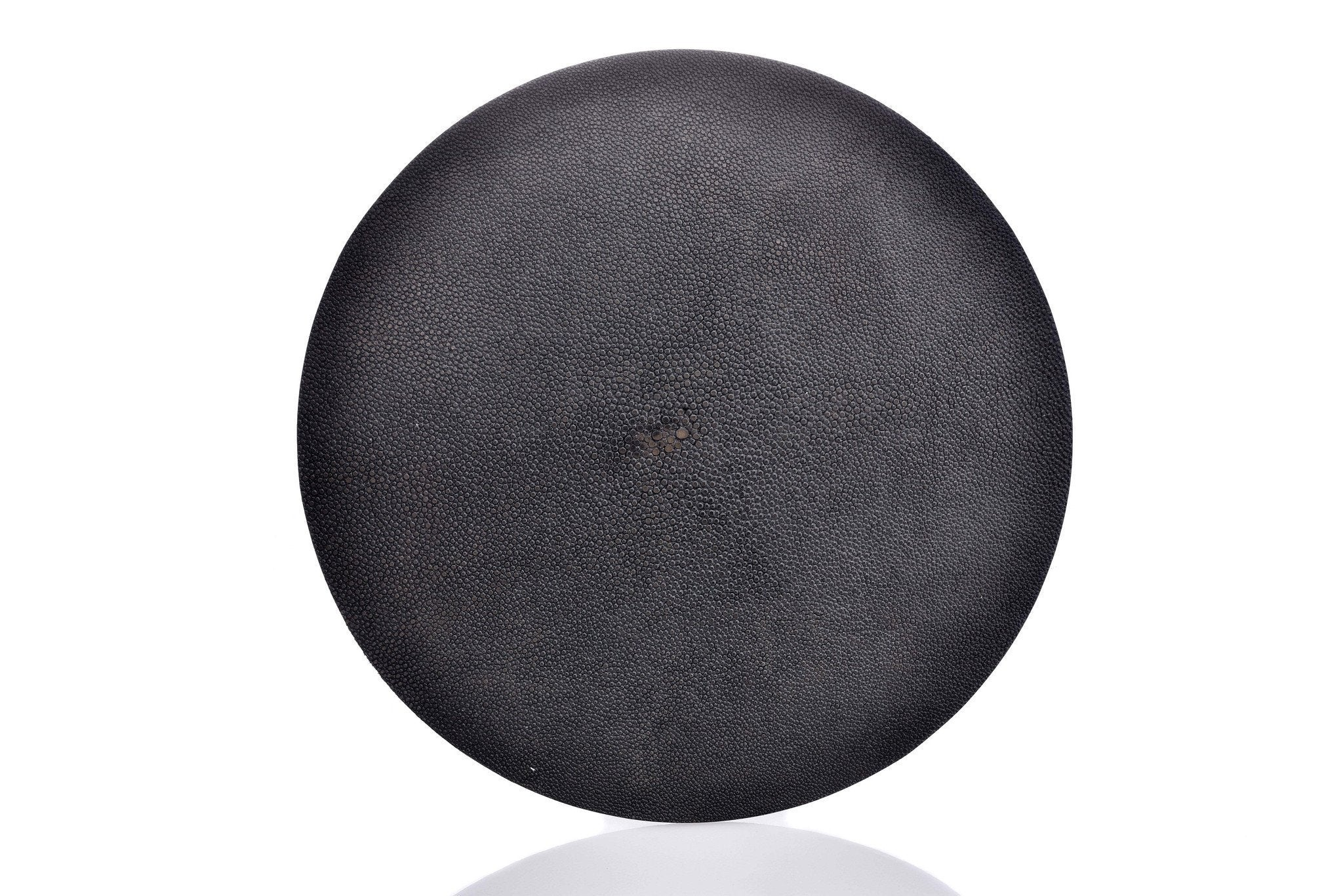 Black Shagreen Place Mat