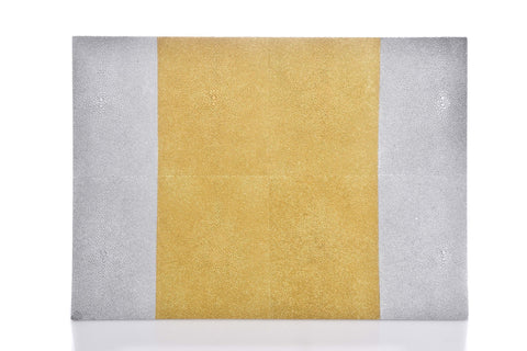 Ivory Golden Rectangular Place Mat