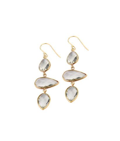 Venus Quartz Earrings
