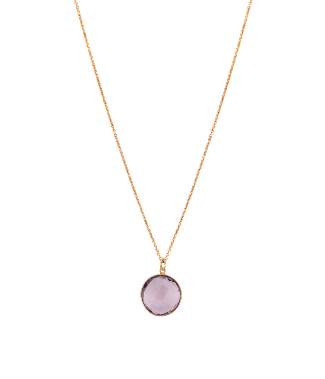 Violaceous Lilac Necklace
