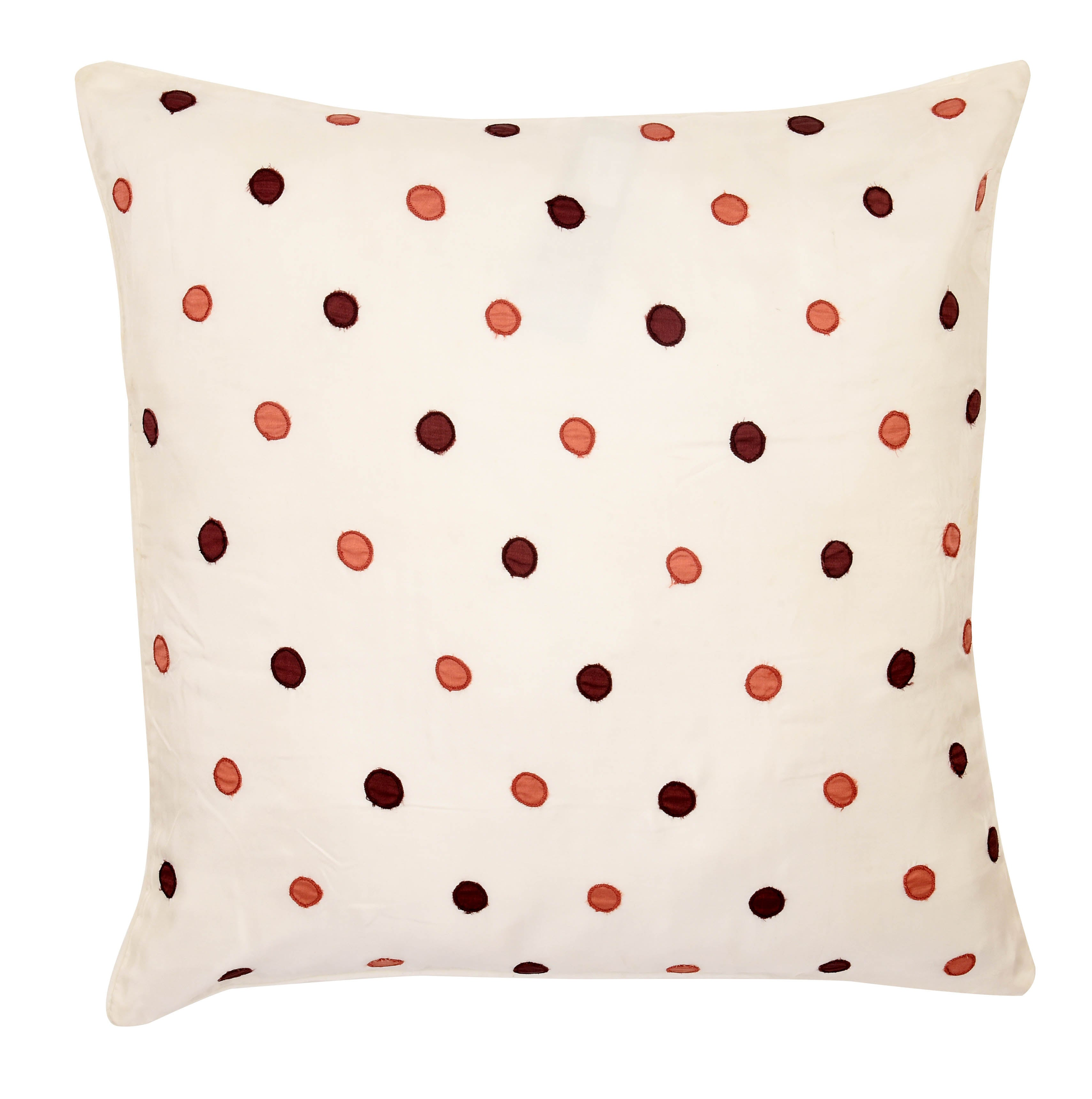 Caramel Silk Cushion Cover Set of 2