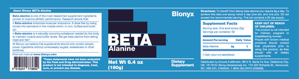 Blonyx Beta-Alanine