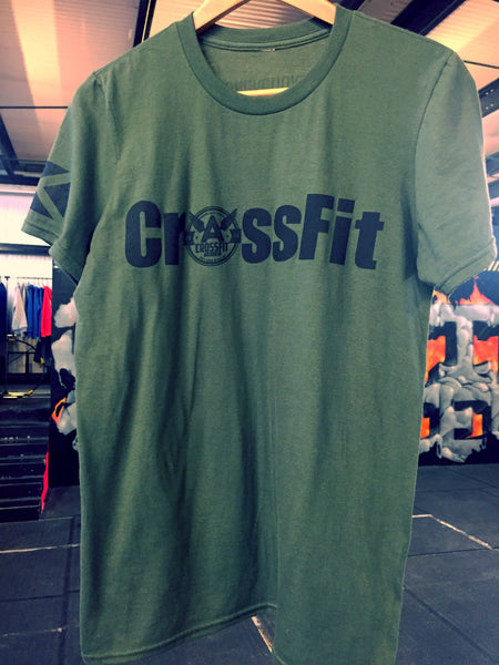 CFA CrossFit T - army green