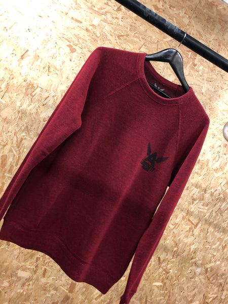 The Cosy Red Fleece Sweater