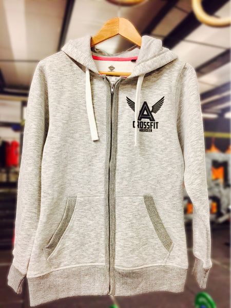 CrossFit Aberdeen Womens Grey Hood