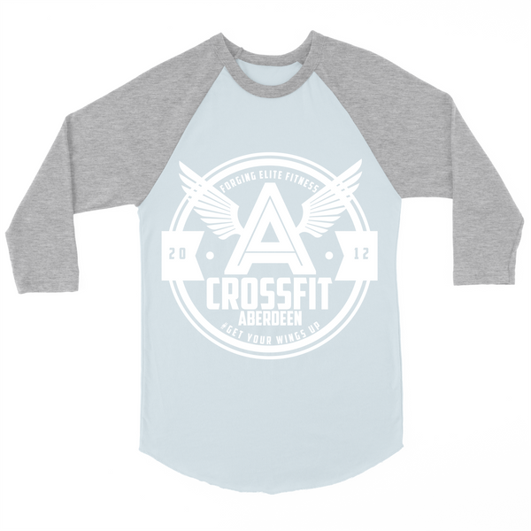 The Baseball T - blue / grey
