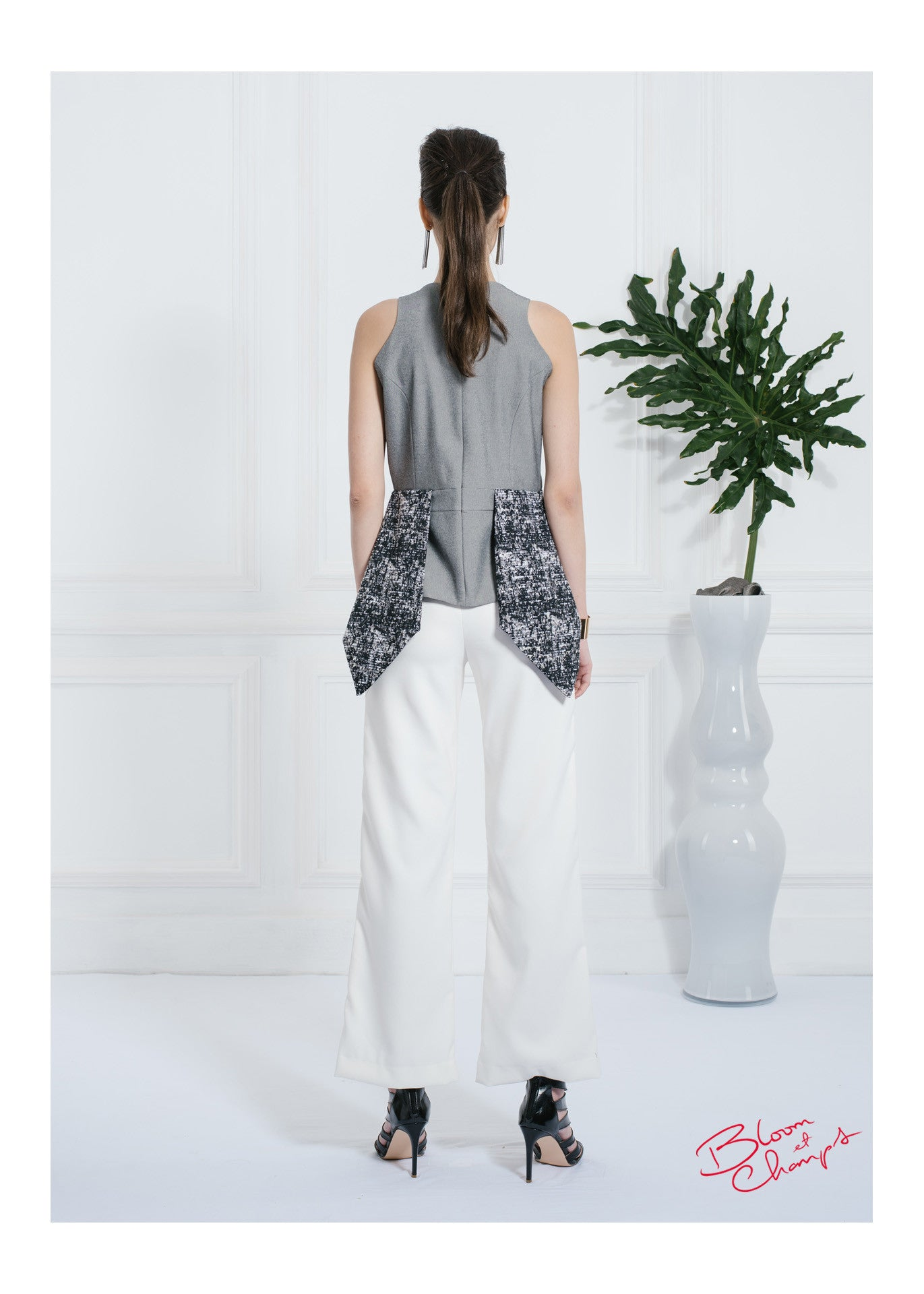 DT Pants White