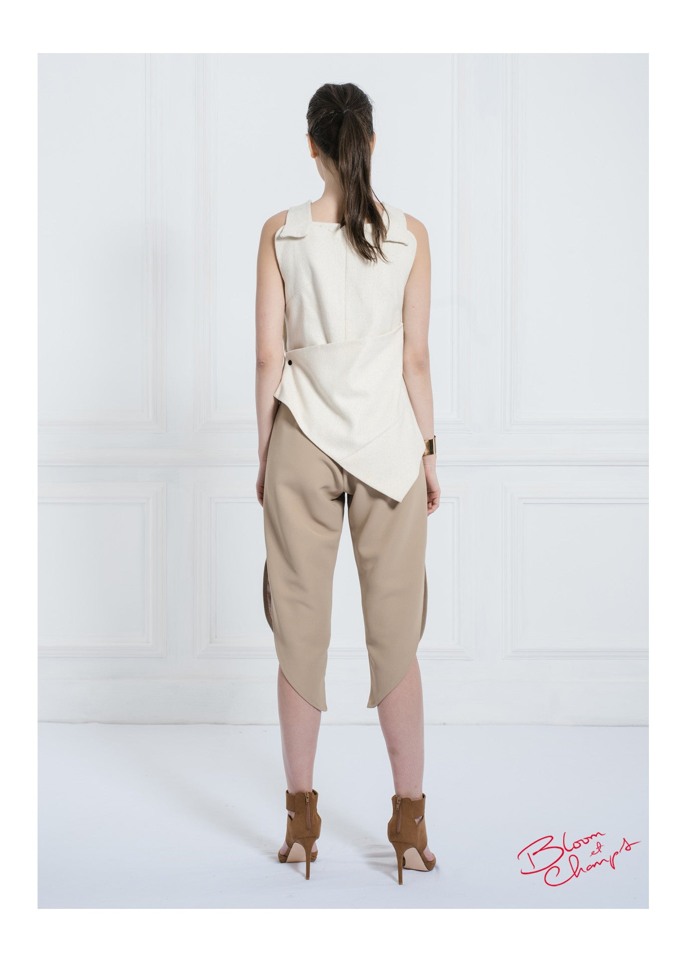 Obi Button Top