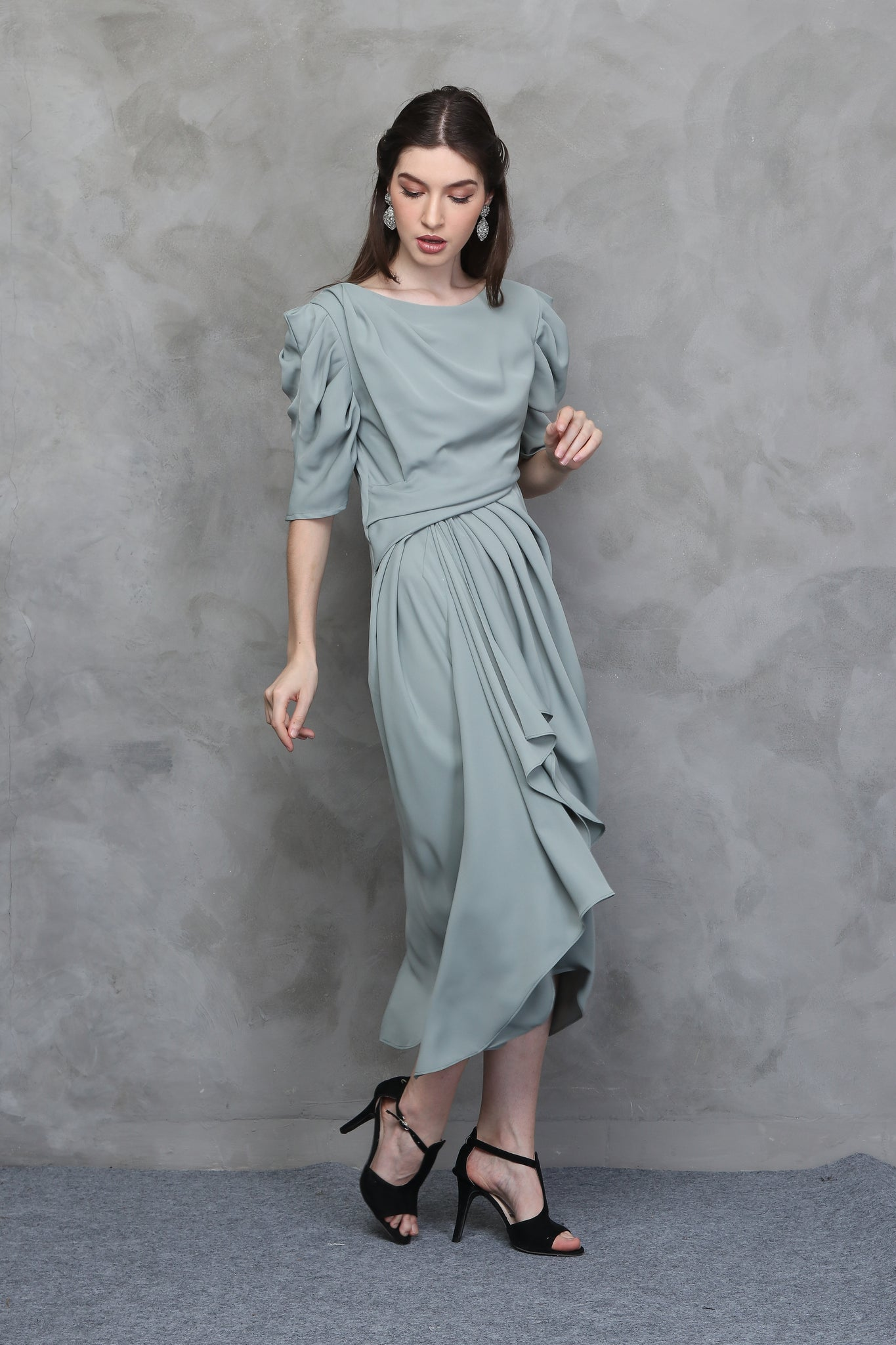 DRESS PLOI TGN LIGHT GREEN