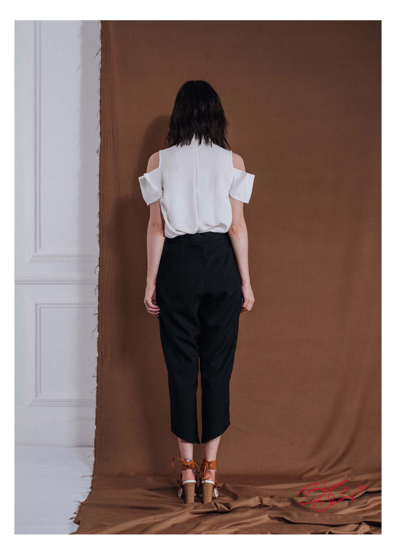 Apron Button Pants