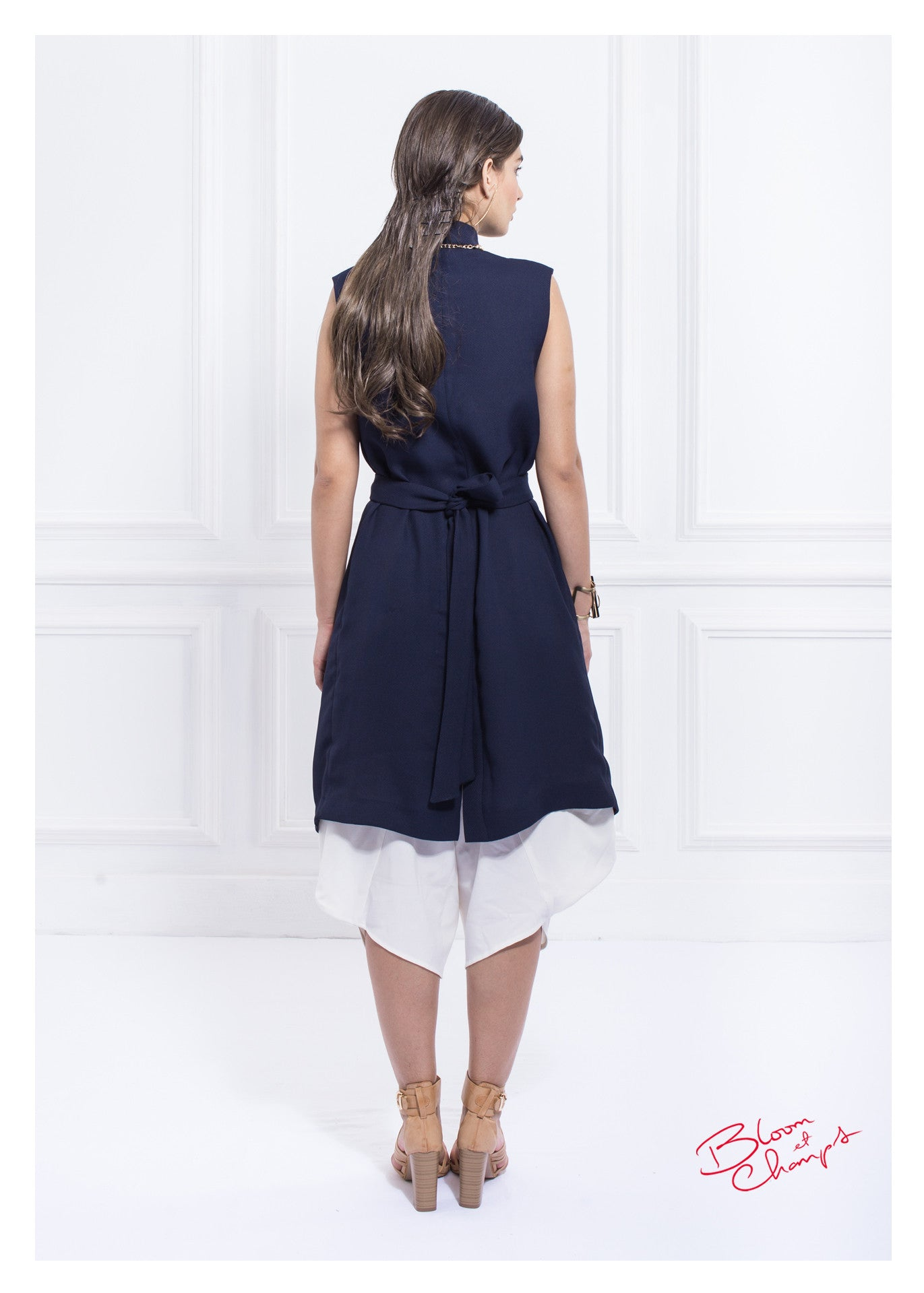 Long Navy Top