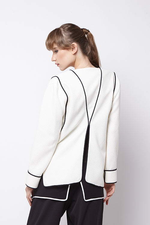 Vest Wafer White