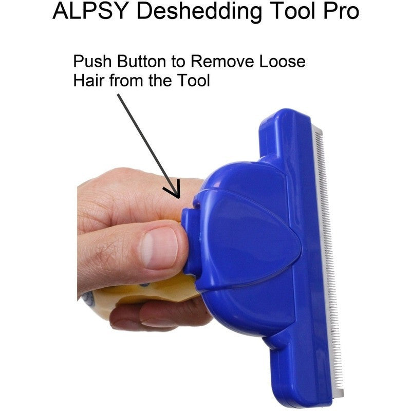 DeShedding Pet Grooming Tool Pro Large-Pet Stuff-Alpsy Group