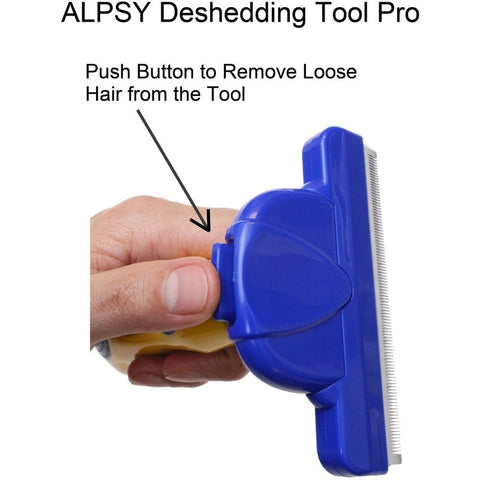 DeShedding Pet Grooming Tool Pro Medium-Pet Stuff-Alpsy Group