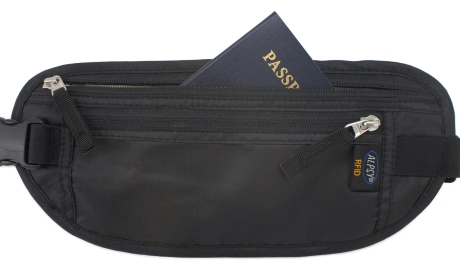 Money Belt Travel Wallet