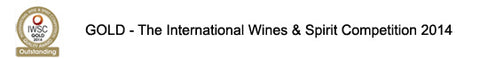 GOLD - The International Wines & Spirit Competition 2014