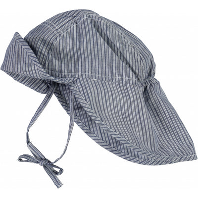 Wheat Baby Boy Sun Hat Acc 9067 cool blue stripe