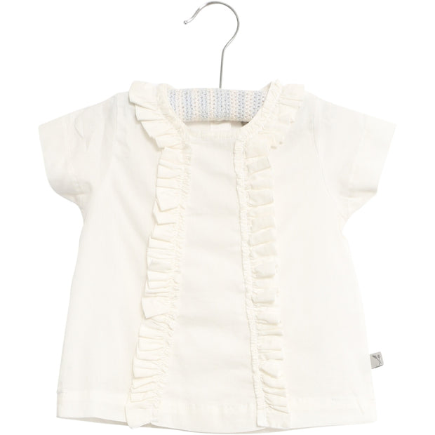 Wheat Blouse Nicoline Shirts and Blouses 0364 white