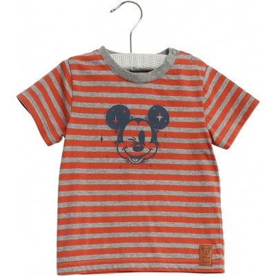 Disney/Marvel Disney T-Shirt Mickey Wink Jersey Tops and T-Shirts 3315 wood