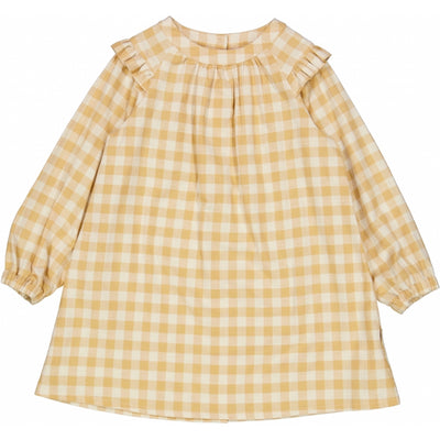 Wheat Dress Herdis Dresses 5087 taffy check