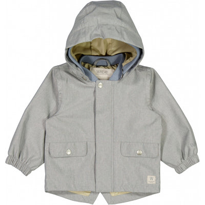 Wheat Outerwear Jacket Manou Tech Jackets 1207 dove melange