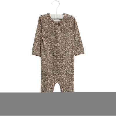 Wheat Jumpsuit Gatherings Jumpsuits 4150 green flowers