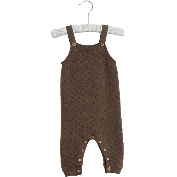 Wheat Knit Romper Bobbie Suit 3086 dark rock