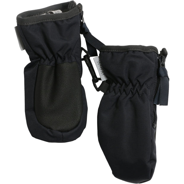 Wheat Outerwear Mittens Zipper Tech Outerwear acc. 1378 midnight blue