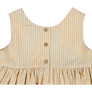 Wheat Pinafore Wrinkles Dresses 5088 taffy stripe